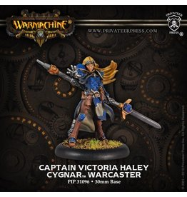 Warmachine Hordes\ PIP31096 Cygnar: Captain Victoria Haley