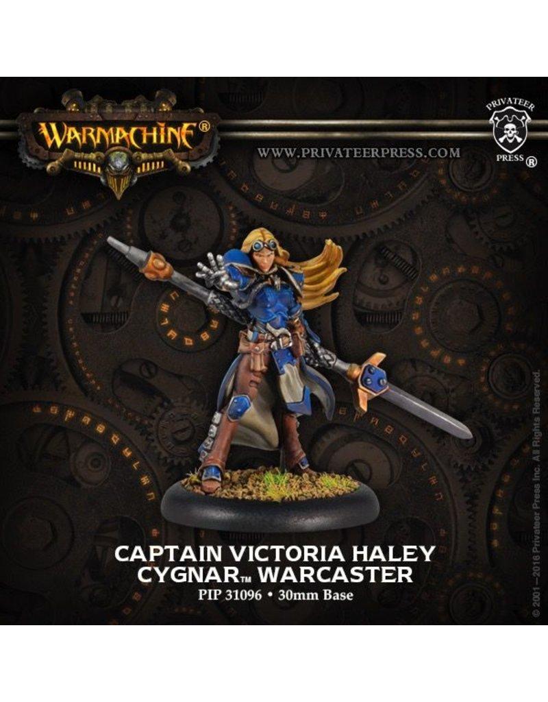Warmachine Hordes\ PIP31096 Cygnar: Captain Victoria Haley