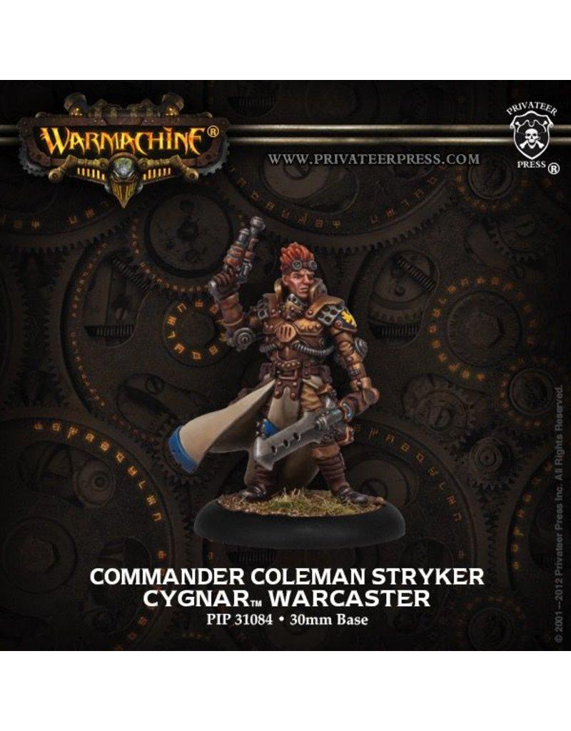 Warmachine Hordes\ PIP31084 Cygnar: Commander Coleman Stryker