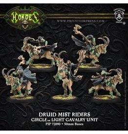 Warmachine Hordes\ PIP72090 Circle Orboros: Druid Mist Riders