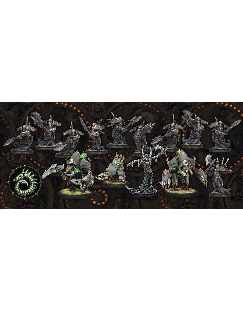 Warmachine Hordes\ PIP25002 Warmachine Two-Player Battlebox<br />MSRP: $89.99
