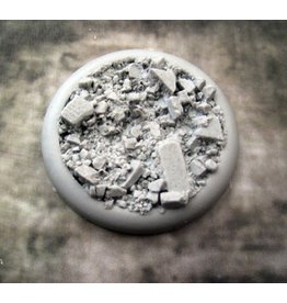 Secret Weapon Miniatures Bases Lip Urban Rubble 50mm #2<br />