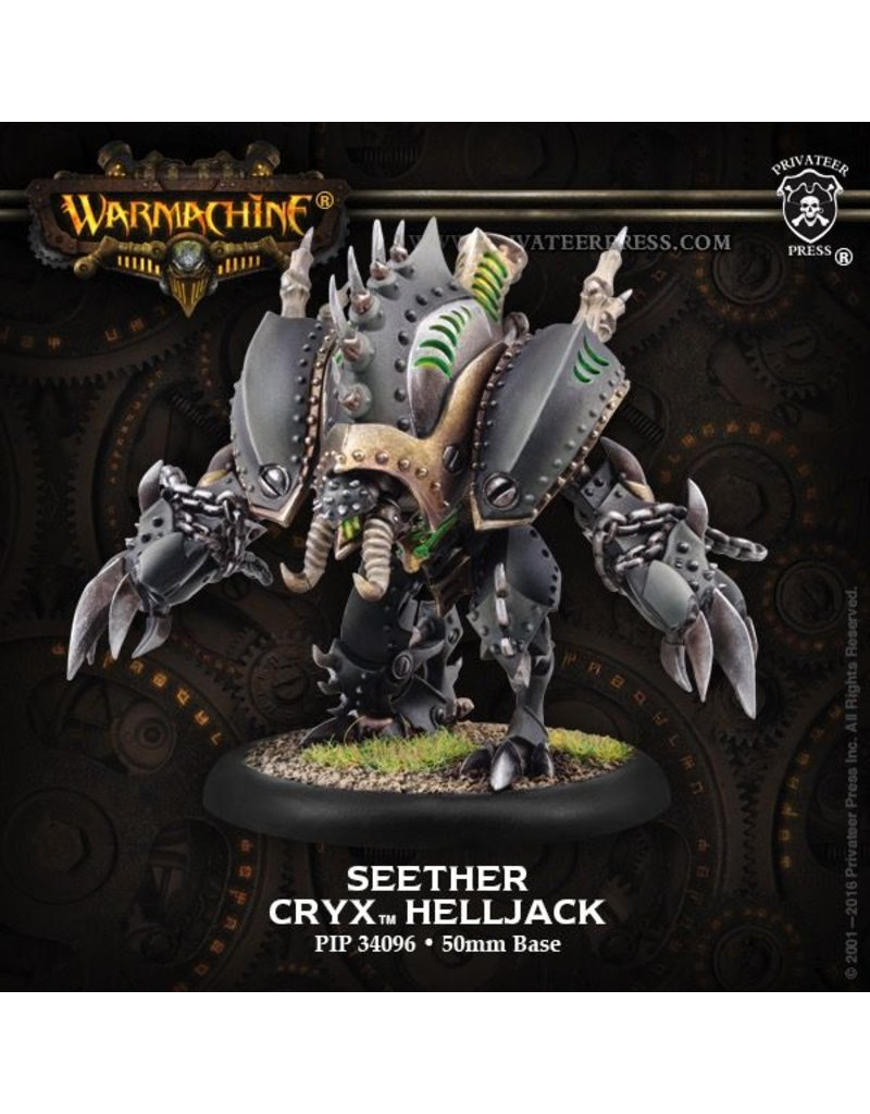 Warmachine Hordes\ PIP34096 Cryx: Inflictor/Seether Heavy Warjack
