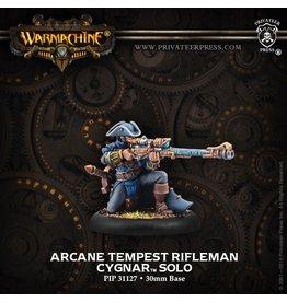 Warmachine Hordes\ PIP31127 Cygnar: Arcane Tempest Rifleman
