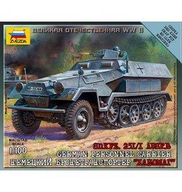 Zvezda ZVE6127 1/100 German Sdkfz 251/1 B