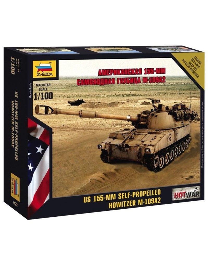 Zvezda ZVE7422 ZVEZDA Hot War: M-109 S.P.G. 1/100