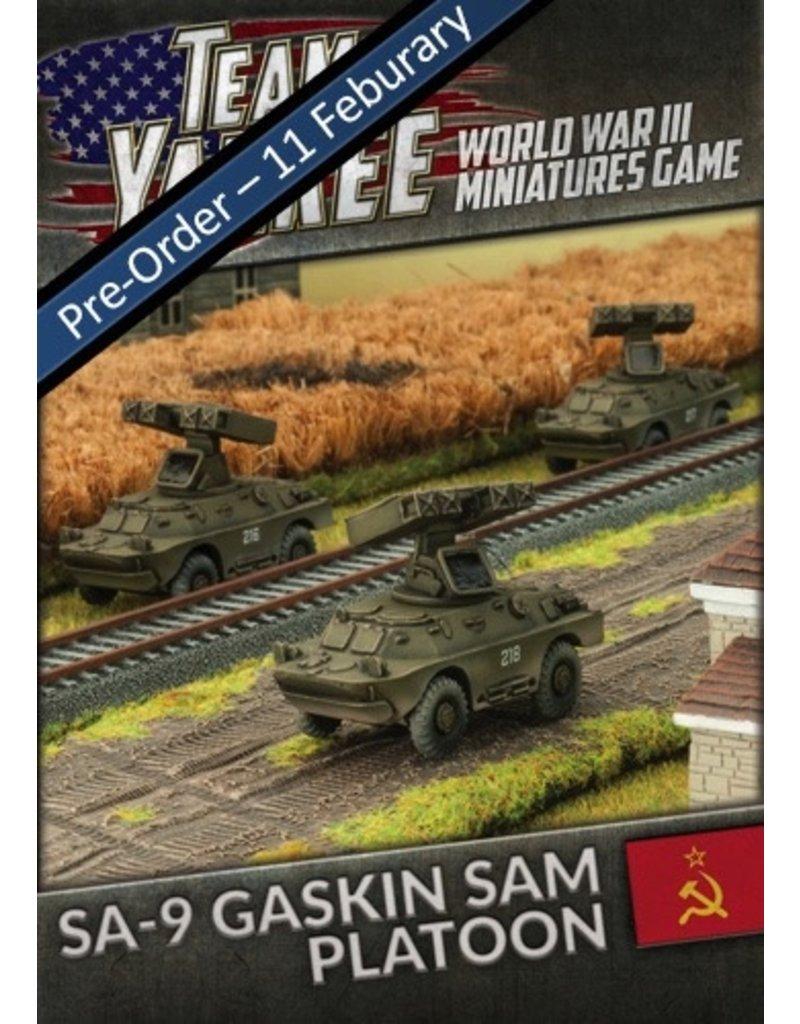 Team Yankee TSBX12 SA-9 Gaskin SAM Platoon