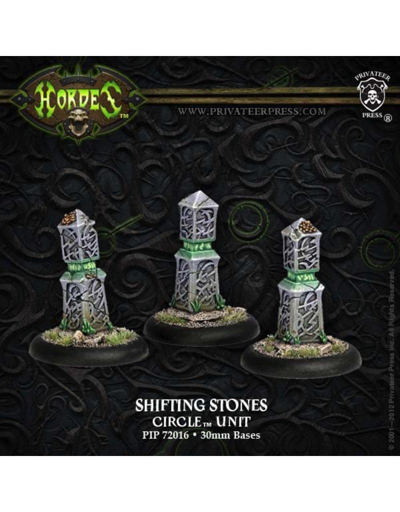 Warmachine Hordes\ PIP72016 Circle: Shifting Stones