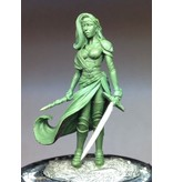 Dark Sword Miniatures VIF Female Warrior Mage with Sword and Wand