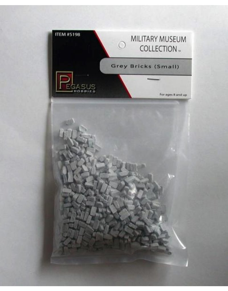 Pegasus Hobbies 28mm Bricks Small Grey