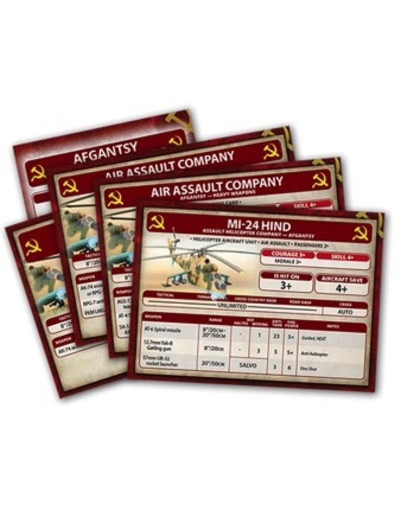 Team Yankee DIRECT TY501 Afgantsy Air Assault Briefing