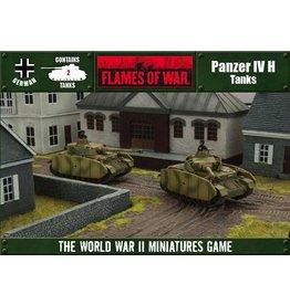 Flames of War OFBX02 Panzer IV H (Open Fire)