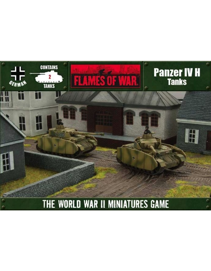 Flames of War OFBX02 Panzer IV H (Open Fire)