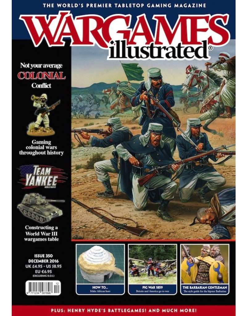 Wargames Illustrated Wargames Illustrated: Issue 350: December 2016