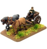 Flames of War XX651 XX Horse Drawn Limbers