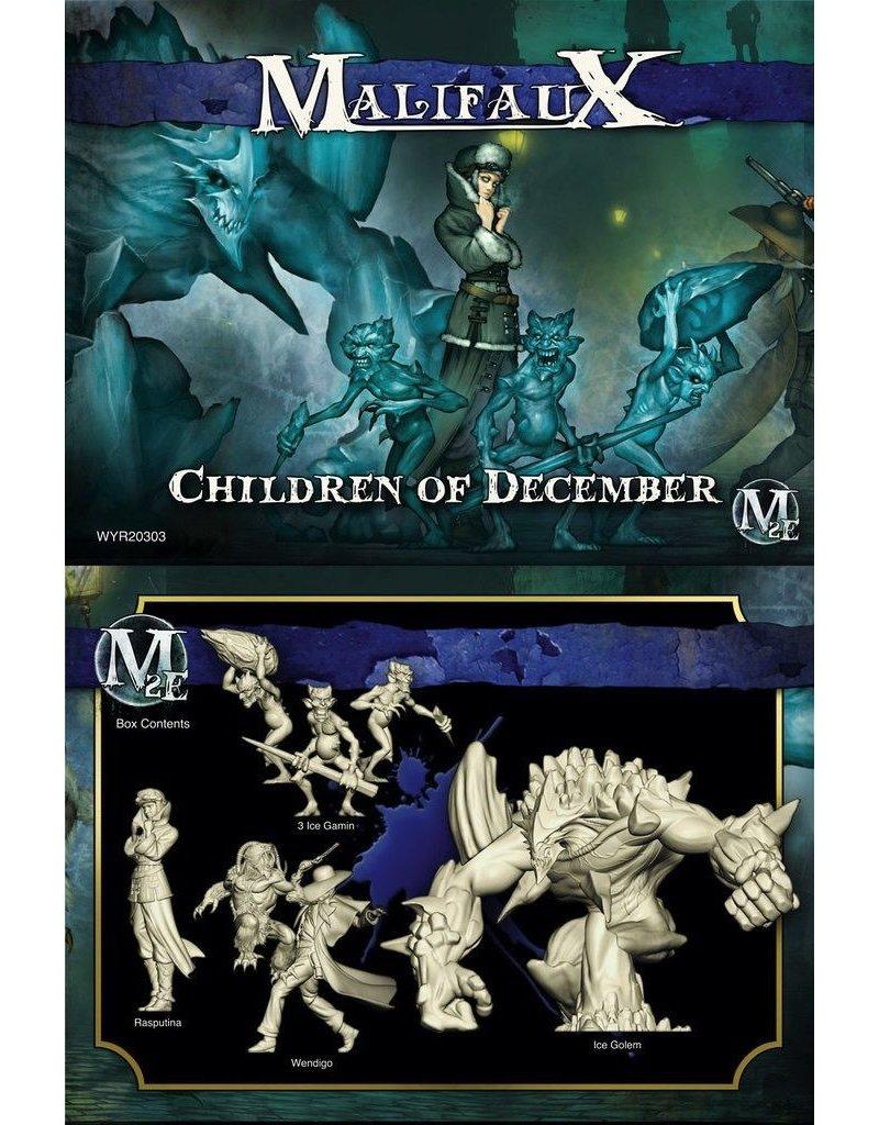 Wyrd miniatures WYR20303 Arcanists: Children of December (Rasputina Crew)