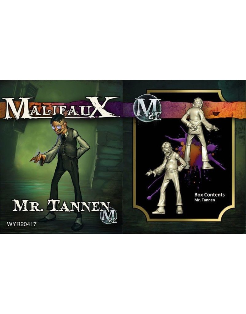 Wyrd miniatures WYR20417 Neverborn Mr Tannen