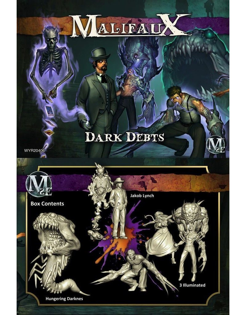 Wyrd miniatures WYR20406 Neverborn: Dark Debts (Jakob Lynch Crew)