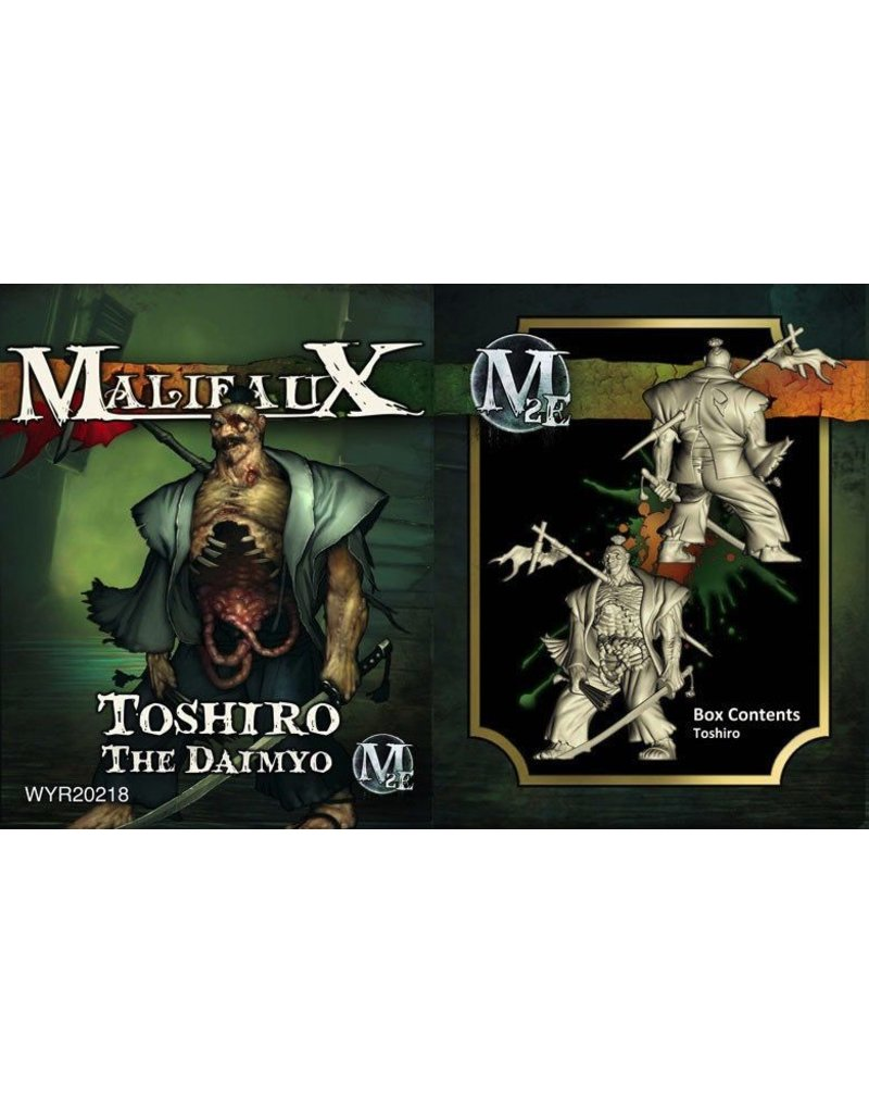 Wyrd miniatures WYR20218 Resurrectionists: Toshiro, The Daimyo