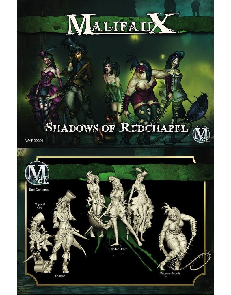 Wyrd miniatures WYR20201 Resurrectionists: Shadows of Redchapel (Seamus Crew)