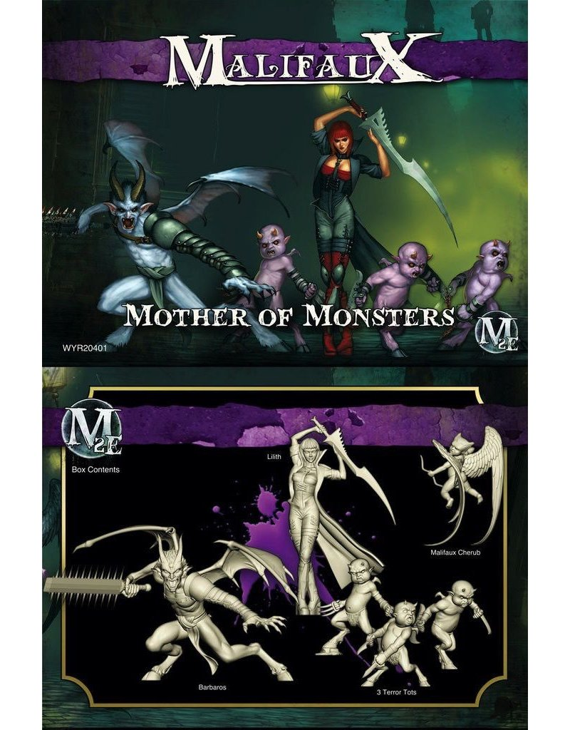 Wyrd miniatures WYR20401 Neverborn: Mother of Monsters (Lilith Crew)