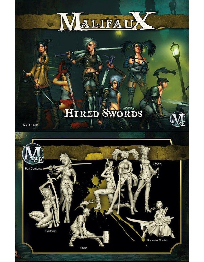 Wyrd miniatures WYR20501 Outcasts: Hired Swords (Viktorias Crew)