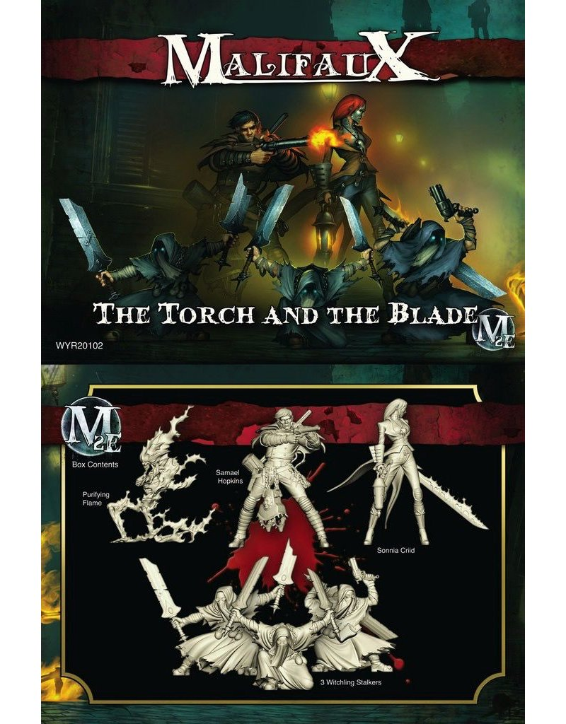 Wyrd miniatures WYR20102 Guild The Torch and the Blade (Sonnia)
