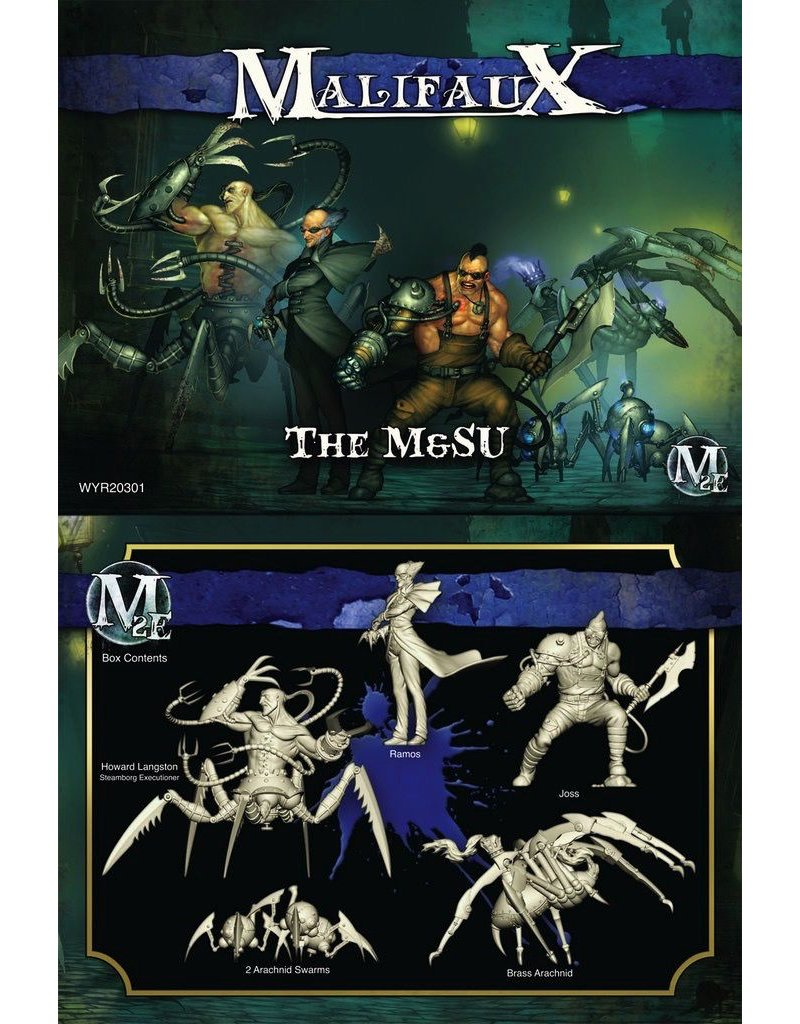 Wyrd miniatures WYR20301 Arcanists The M&SU (Ramos Crew)