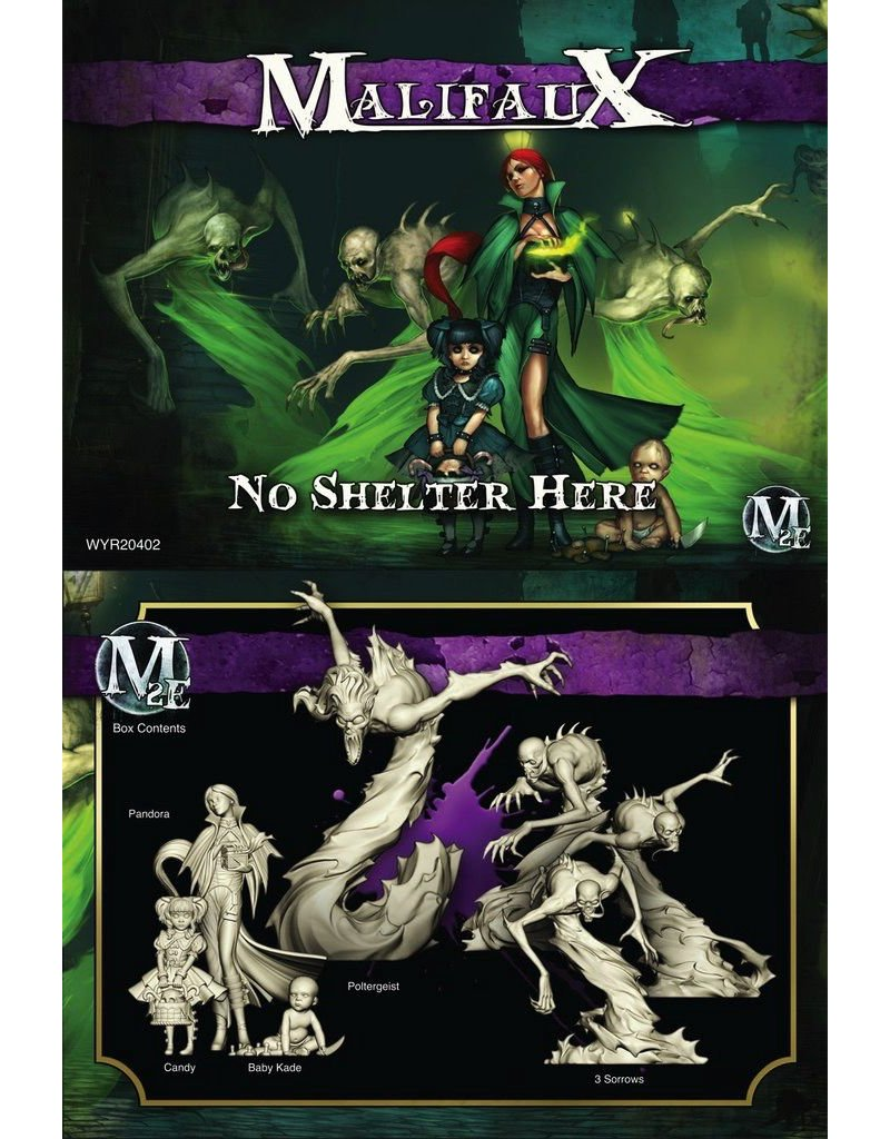 Wyrd miniatures WYR20402 Neverborn No Shelter Here (Pandora)