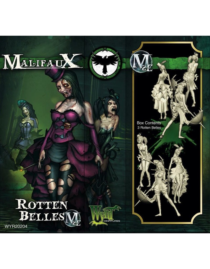 Wyrd miniatures WYR20204 Resurrectionists: Rotten Belles (3)