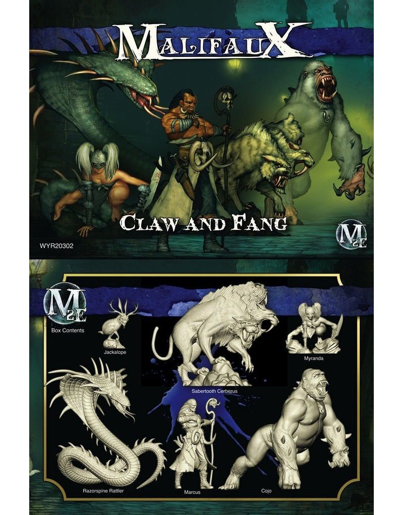 Wyrd miniatures WYR20302 Arcanists: Claw and Fang(Marcus Crew)