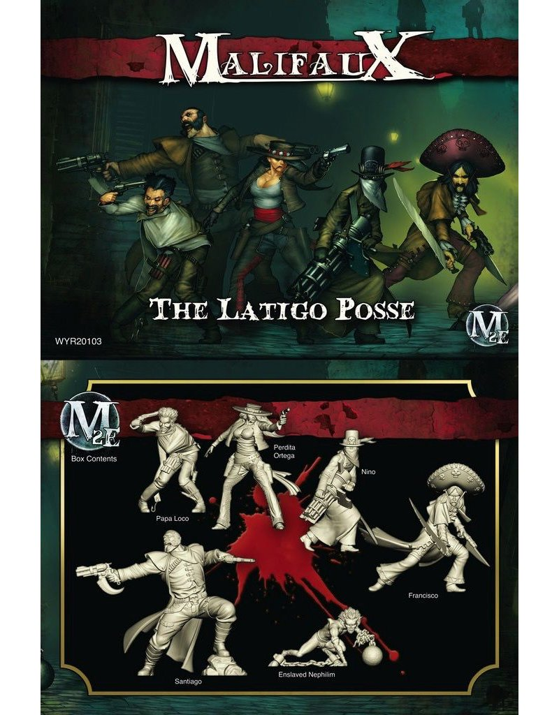Wyrd miniatures WYR20103 Guild: The Latigo Posse (Perdita Crew)