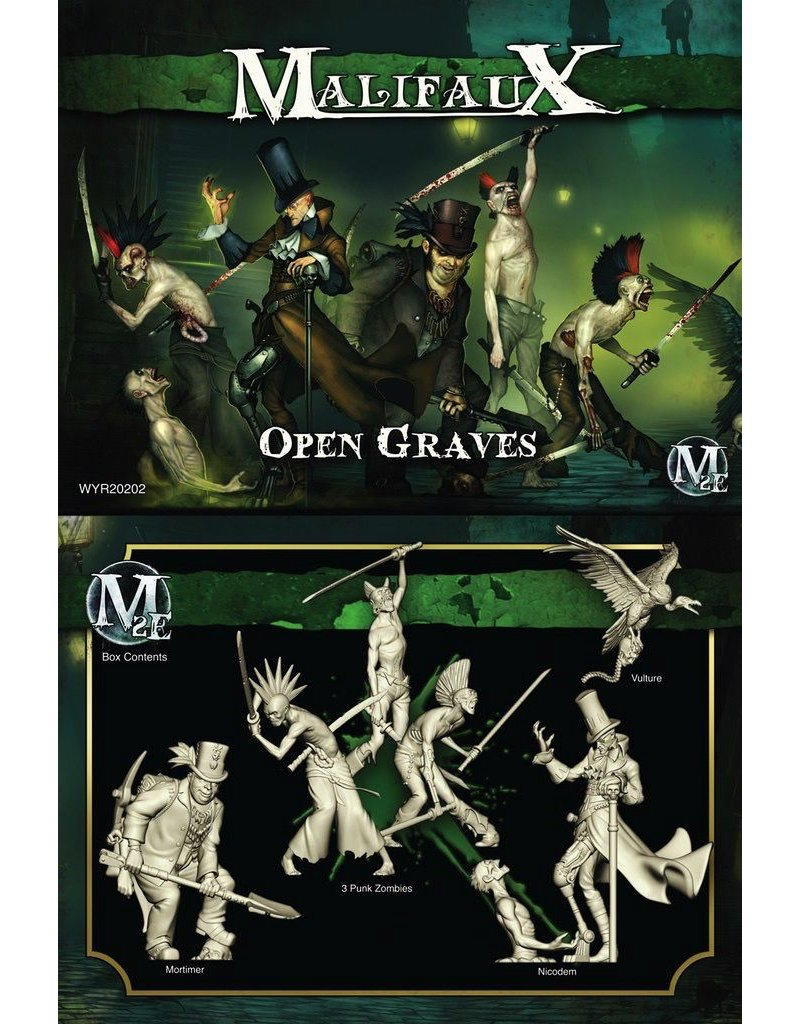 Wyrd miniatures WYR20202 Resurrectionists: Open Graves (Nicodem Crew)
