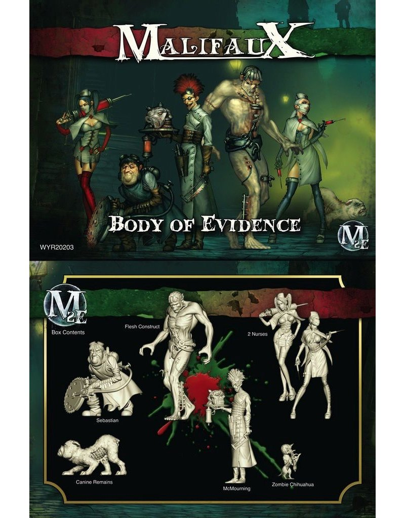 Wyrd miniatures WYR20203 Resurrectionists: Body of Evidence (McMourning Crew)