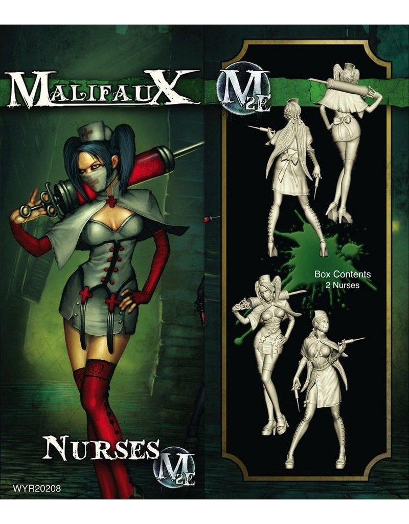 Wyrd miniatures WYR20208 Resurrectionists: Nurse Plastic Box