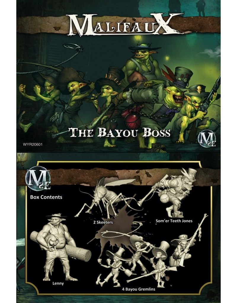 Wyrd miniatures WYR20601 Outcasts: The Bayou Boss (Som'er Crew)