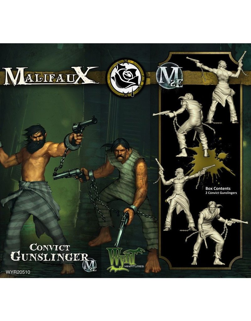 Wyrd miniatures WYR20510 Outcasts: Convict Gunslinger (2)