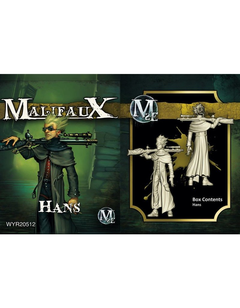 Wyrd miniatures WYR20512 Outcasts: Hans