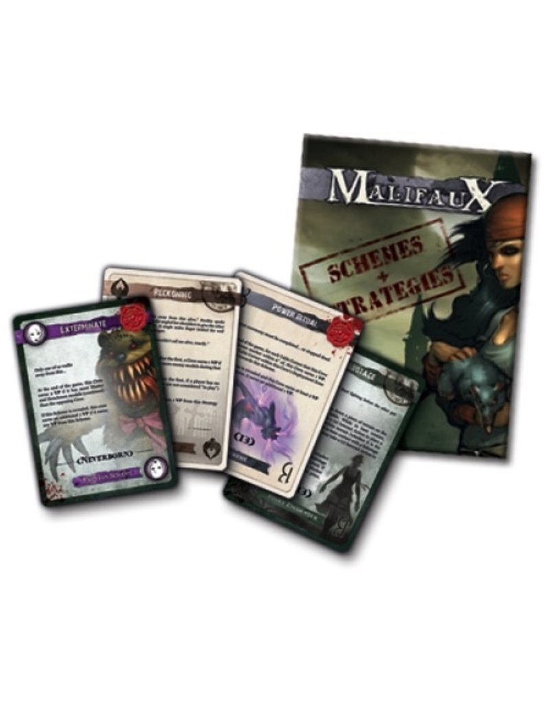 Wyrd miniatures WYR20010 Game Accessories: Schemes and Strategies Deck