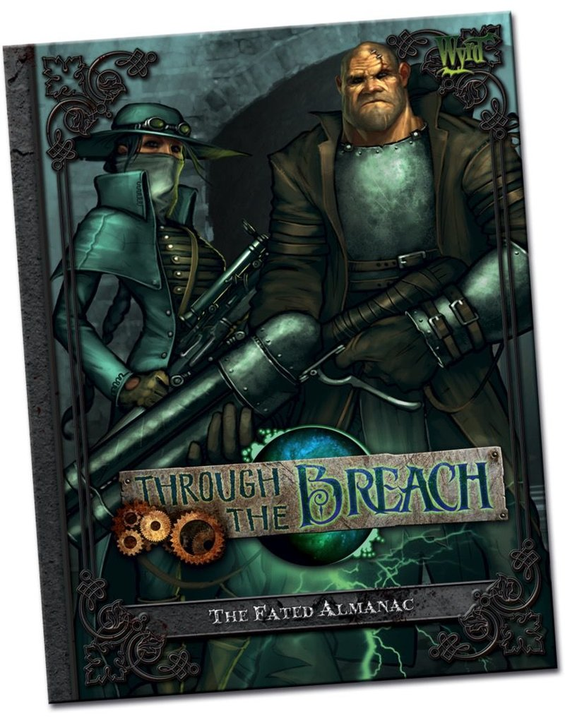 Wyrd miniatures WYR30102 Through the Breach RPG: The Fated Almanac