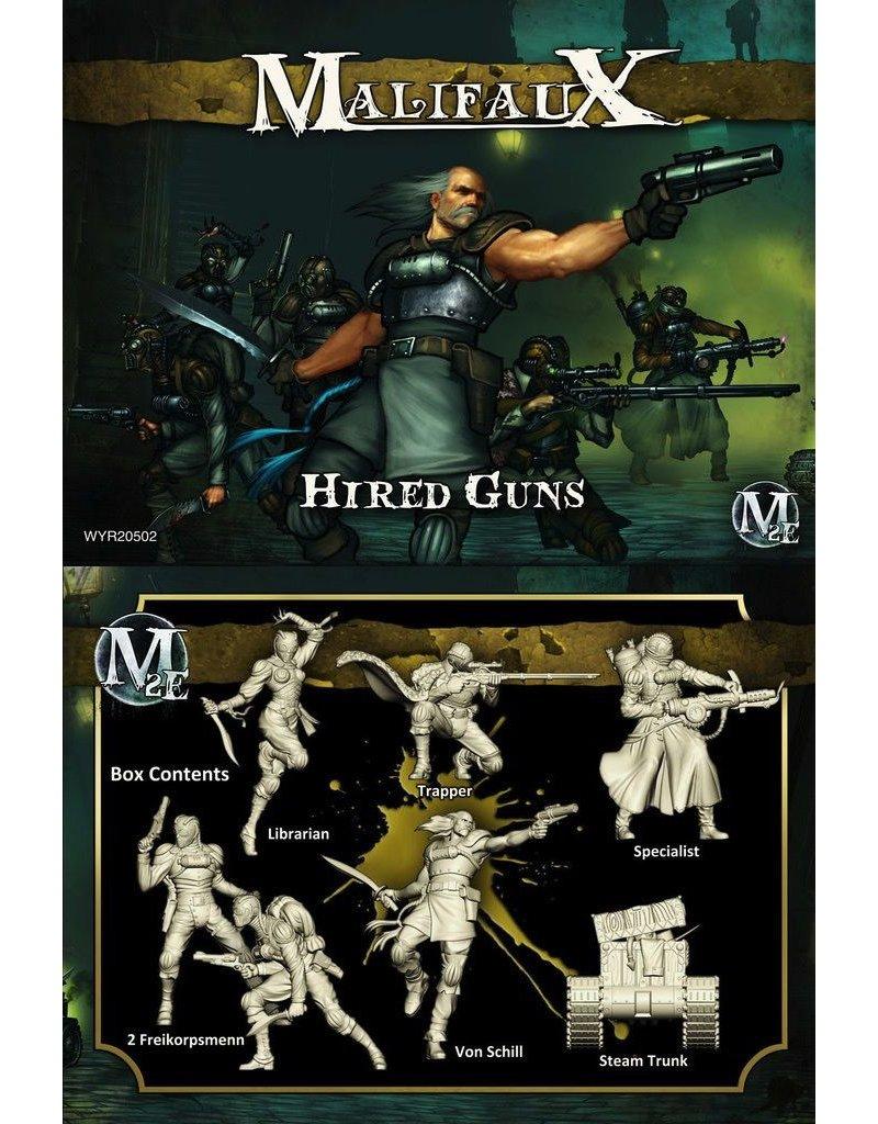 Wyrd miniatures WYR20502 Outcasts: Hired Guns (Von Schill Crew)