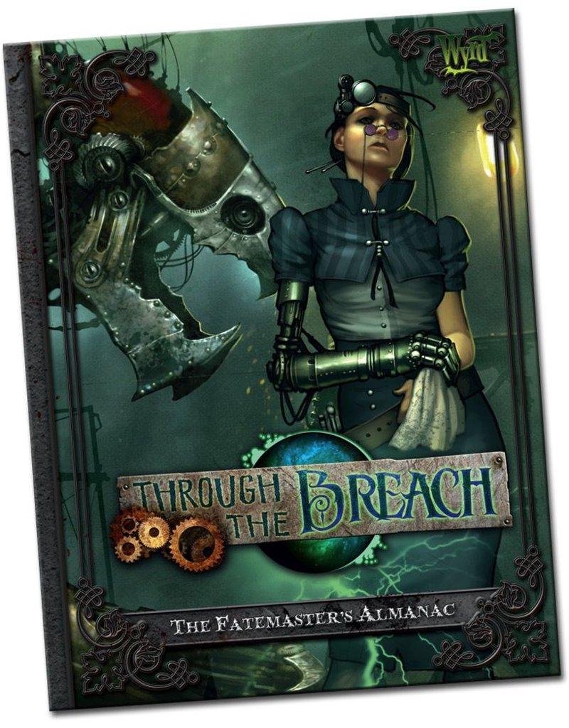 Wyrd miniatures WYR30101 Through the Breach RPG: The Fate Master's Almanac