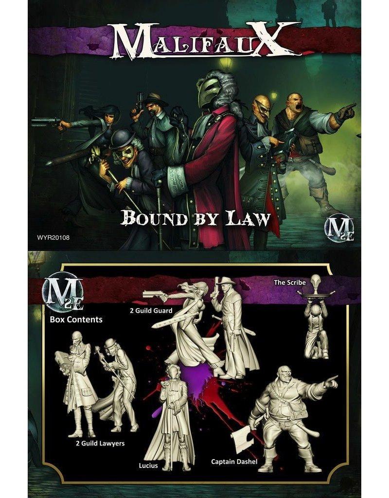 Wyrd miniatures WYR20108 Guild: Bound by Law (Lucius Crew)