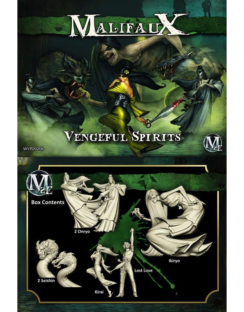 Wyrd miniatures WYR20206 Resurrectionists: Vengeful Spirits (Kirai Crew)