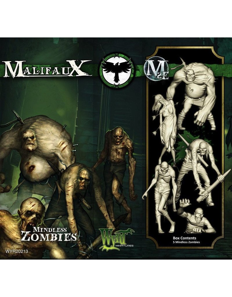 Wyrd miniatures WYR20213 Resurrectionists: Mindless Zombies (5)