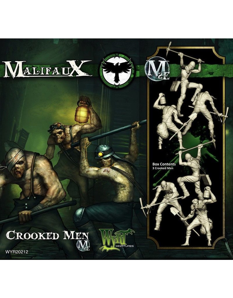Wyrd miniatures WYR20212 Resurrectionists: Crooked Men (3)