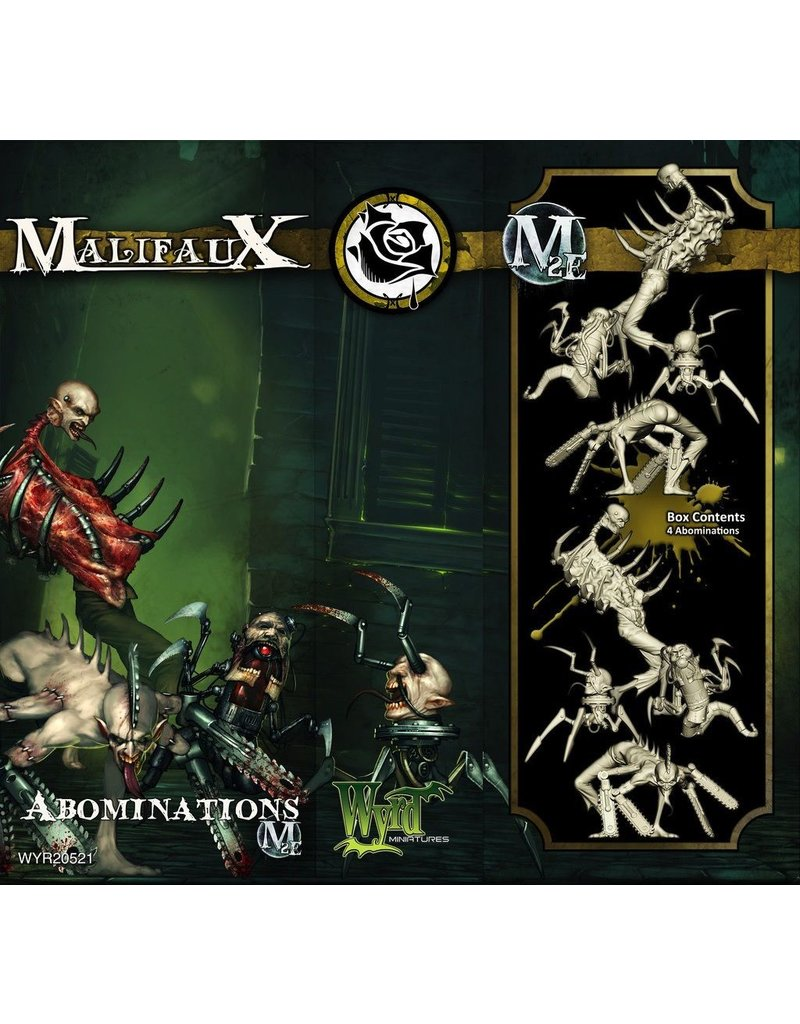 Wyrd miniatures WYR20521 Outcasts: Abominations (4 Pack)