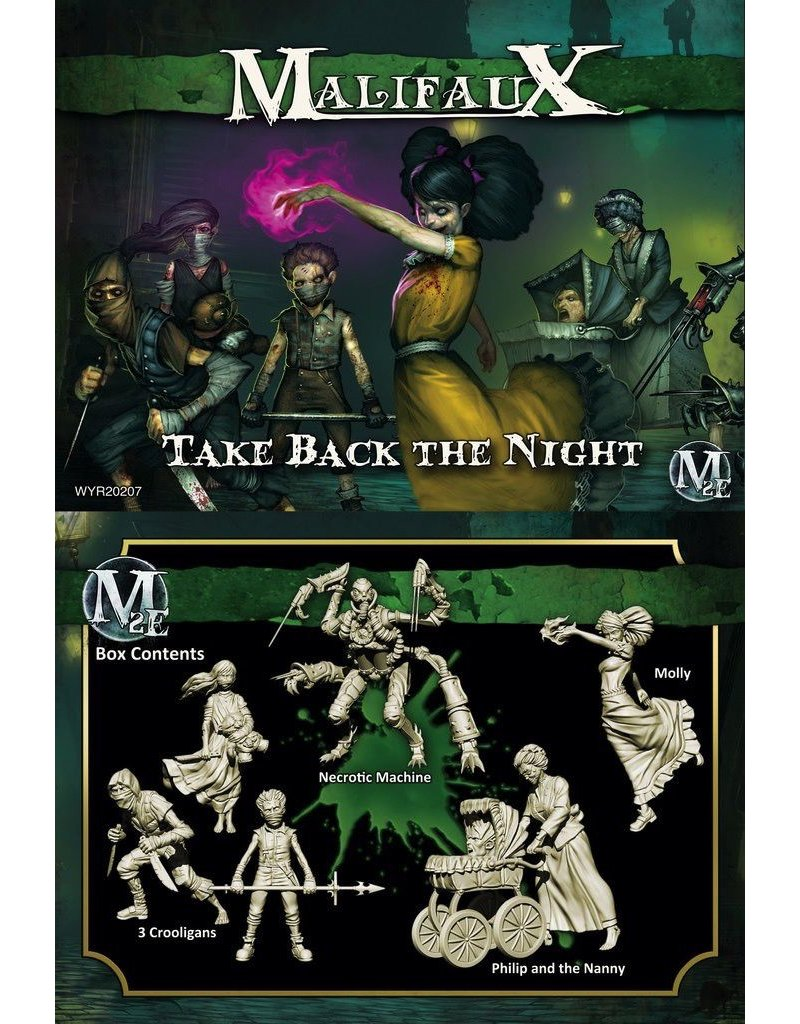 Wyrd miniatures WYR20207 Resurrectionists: Take Back the Night (Molly Crew)