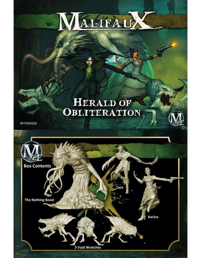 Wyrd miniatures WYR20520 Outcasts: Herald of Obliteration (Tara Crew)