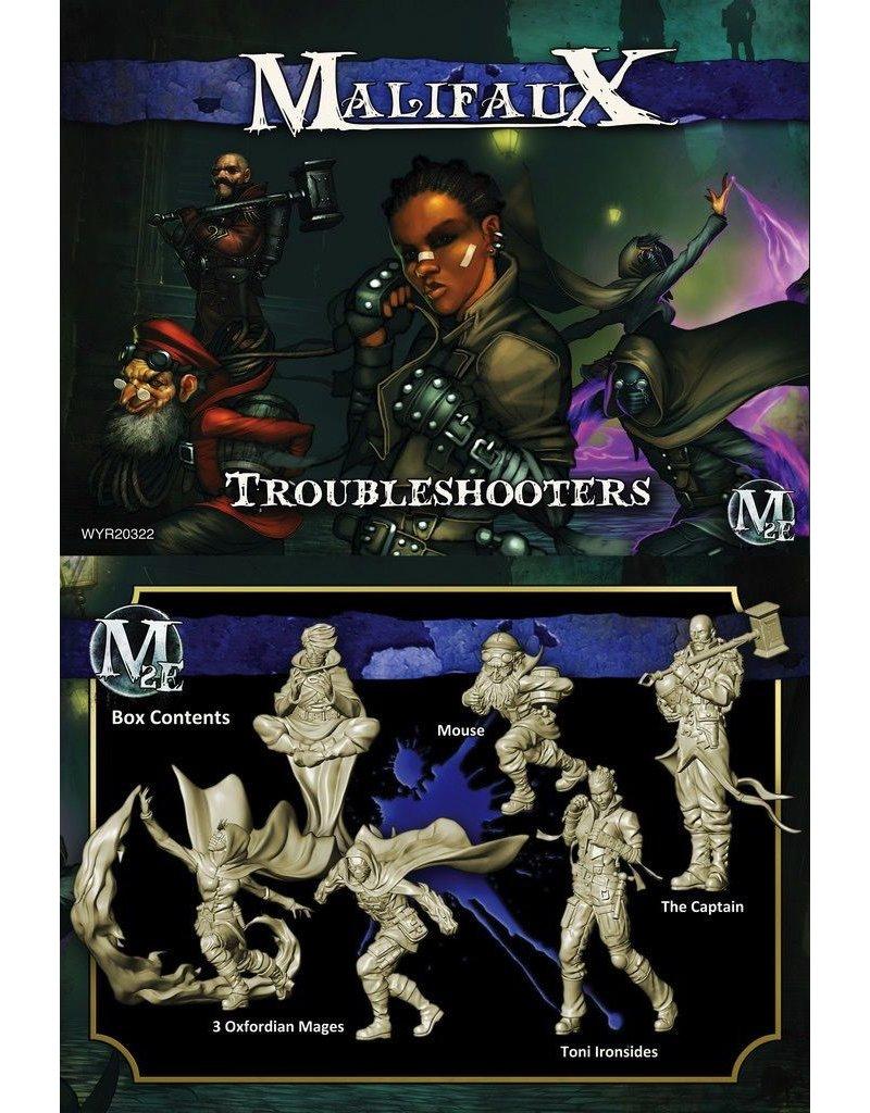 Wyrd miniatures WYR20322 Arcanists: Troubleshooters (Ironside Crew)